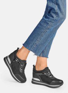 Czarne buty sportowe Catwalk sneakersy (1)